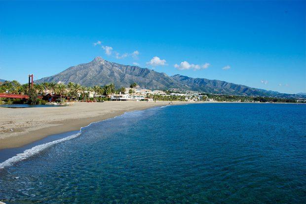 las mejores playas de marbella espana