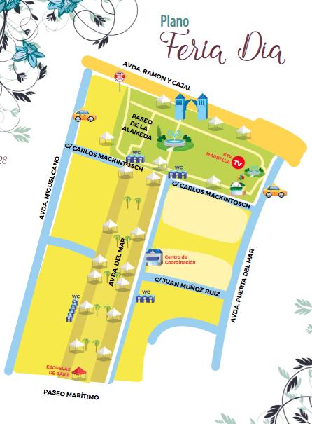 Feriade Marbella 2016-mapa feria de dia