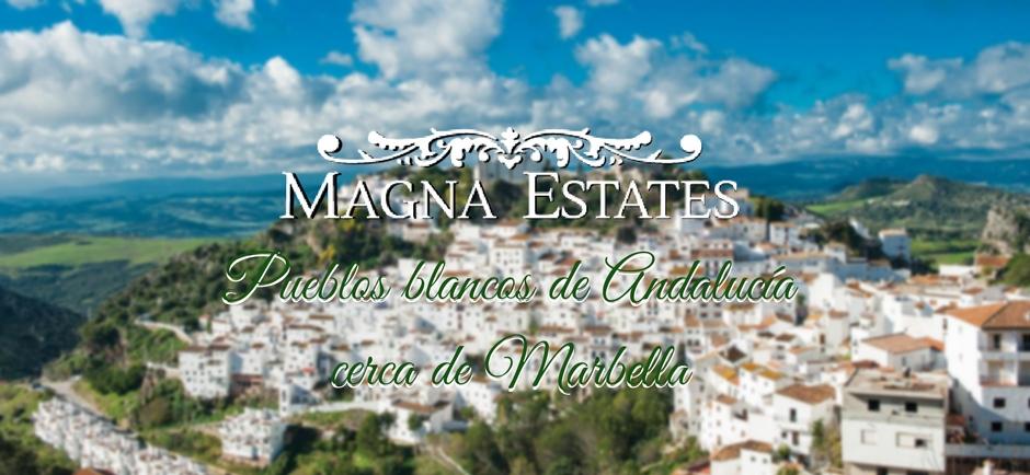 Pueblos blancos de Andalucía cerca de Marbella