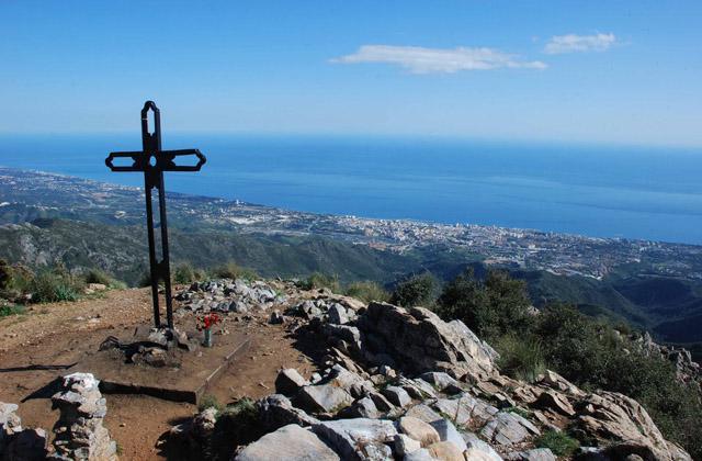 Rutas de senderismo en Marbella - Cruz Juanar