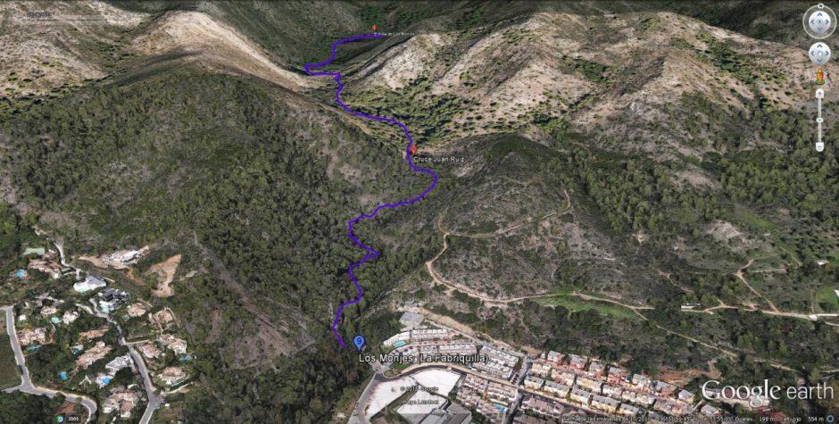 Rutas de senderismo en Marbella - Senda de los Monjes