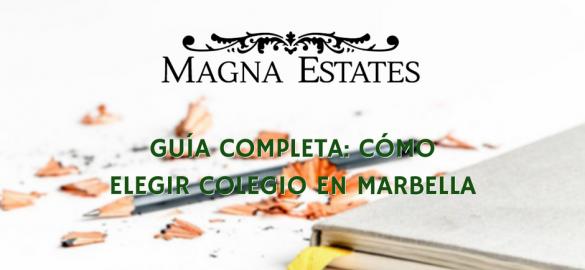 Guía completa: cómo elegir colegio en Marbella