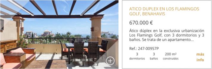 10 de los áticos dúplex más atractivos de la Costa del Sol 8