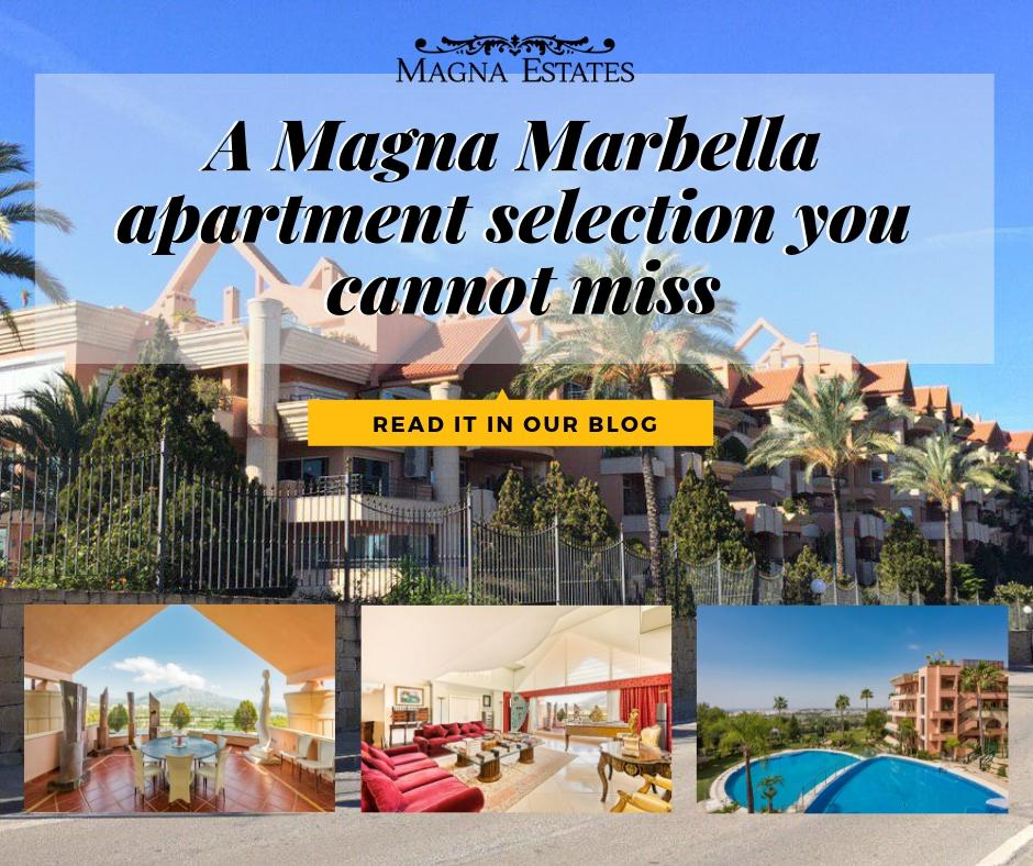 A Magna Marbella apartment selection you cannot miss