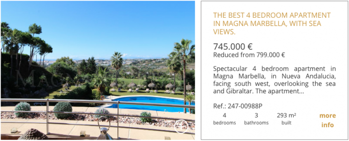 Properties for sale in Magna Marbella 4