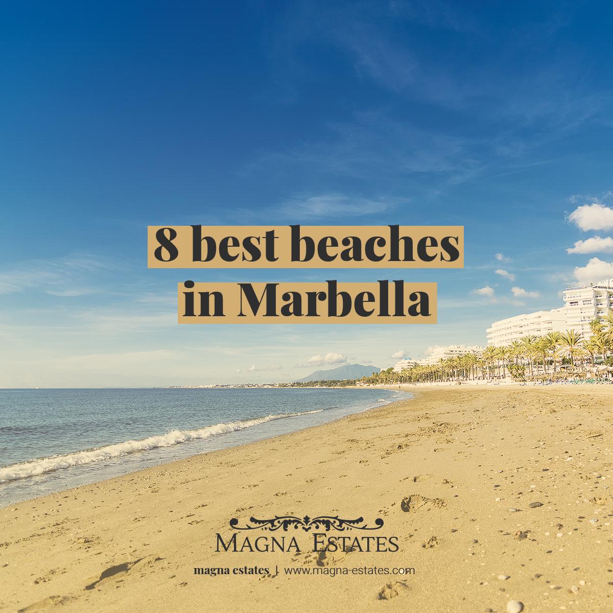 8 best beaches marbella
