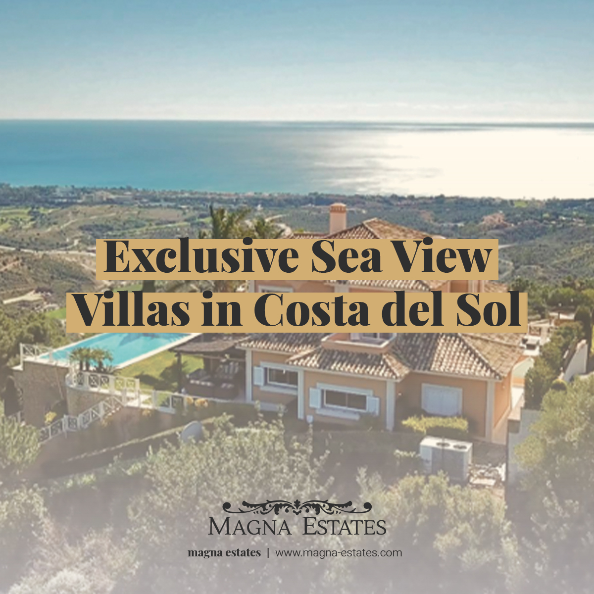 Exclusive Sea View Villas in Costa del Sol